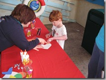 Sea-Life Aquarium Arts & Crafts Table