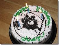 Andy's 3rd Birthday Cake