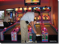 Skee-Ball with Daddy