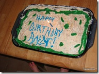 Andy's First Birthday Cake