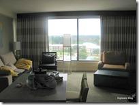 Living Room at Bay Lake Tower