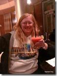 Ilene at the Bay Lake Tower lounge