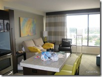 Bay Lake Tower Room Living Room