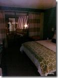Bay Lake Tower Room Bedroom at night