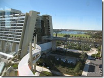 Contemporary Resort and Monorails