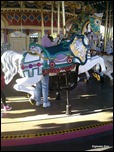 Carousel Horse - Taken with Palm Pre
