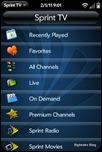 SprintTV for webOS