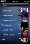webOS Amazon MP3 Store - Genres