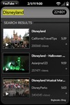 YouTube for webOS - Video selection