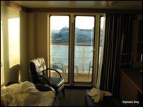 Stateroom: Living-room and verandah