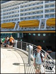 Observation deck at the Disney Cruise Line Terminal