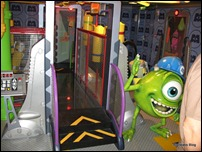 Monster's Inc. themed play area