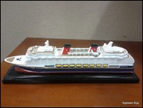 Disney Dream Souvenir Model